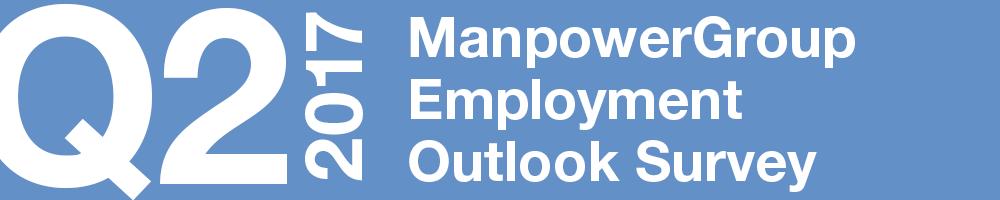 ManpowerGroup Employment Outlook Survey – Q2 2017