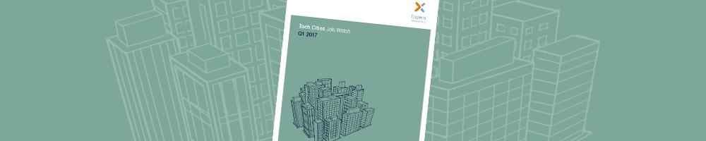 Q1 2017 Tech Cities Job Watch