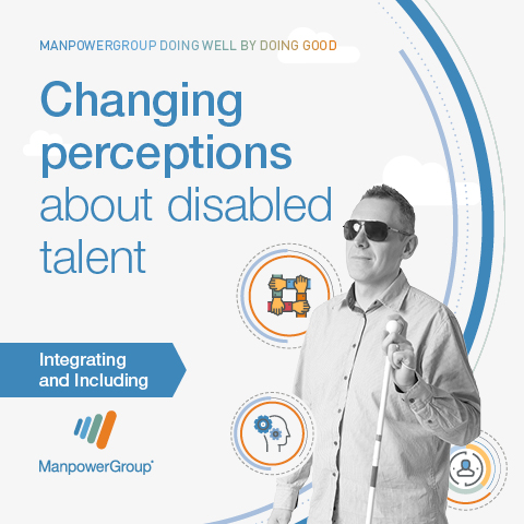 Changing perceptions about disabled talent