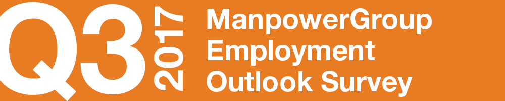 ManpowerGroup Employment Outlook Survey – Q3 2017