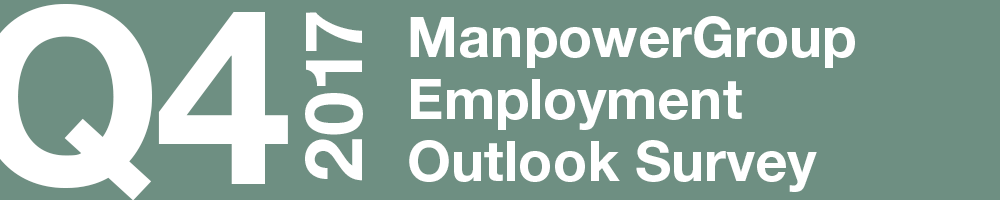 ManpowerGroup Employment Outlook Survey – Q4 2017