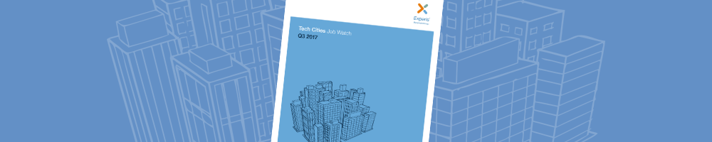 Tech Cities Job Watch Q3 2017