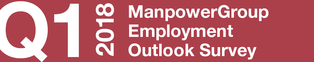 ManpowerGroup Employment Outlook Survey – Q1 2018