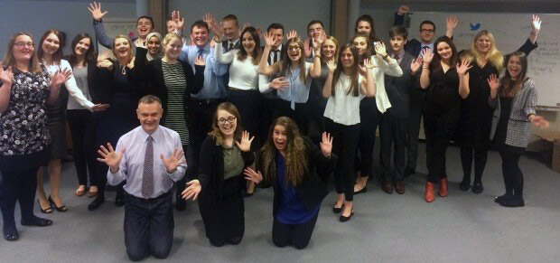 Participants at the PPMA Apprentice of the Year 2016