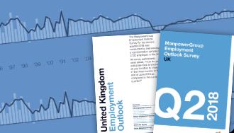 ManpowerGroup Employment Outlook Survey brochure
