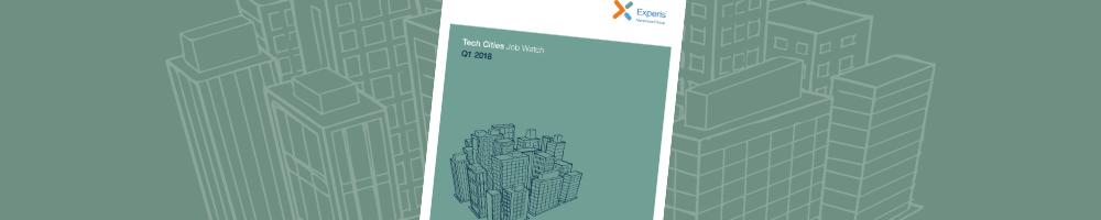 Tech Cities Job Watch Q1 2018