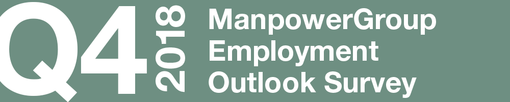 ManpowerGroup Employment Outlook Survey – Q4 2018