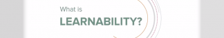 What is learnability?