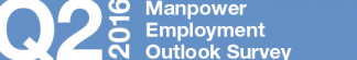 Manpower Employment Outlook Survey – Q2 2016