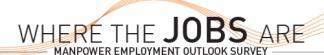 ManpowerGroup Employment Outlook Survey Infographic – Q3 2018