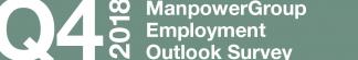 ManpowerGroup Employment Outlook Survey – Q4 2018